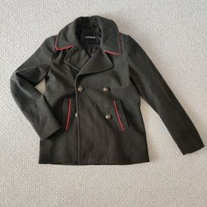 EXPRESS MILITARY STYLE COAT